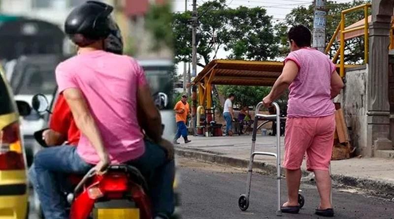 Exoneran a personas con discapacidad de la prohibición del parrillero.
