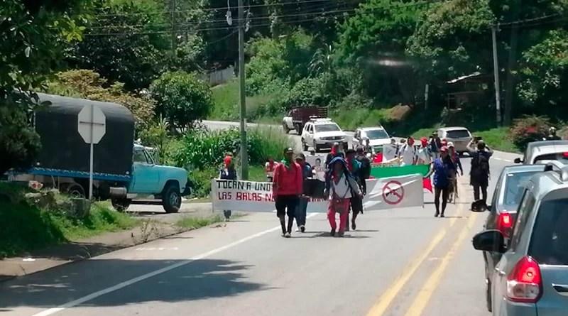 Marcha de indígenas llegará hasta Duque