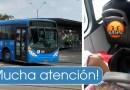 Depravado sexual se moviliza en los buses del MIO