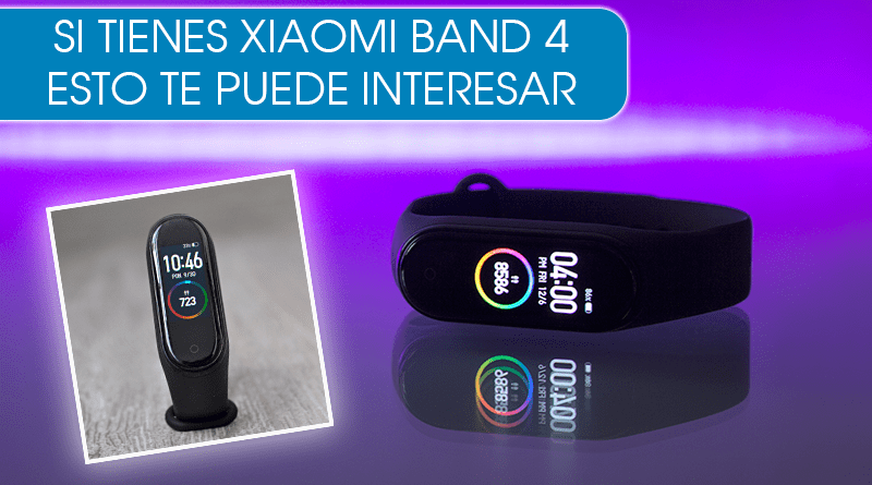 Optimiza el uso de tu pulsera Xiaomi Mi Band 4 con estas apps