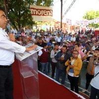 GOBIERNOS NEOLIBERALES, LOS CAUSANTES DEL ABANDONO EN EL CAMPO: MIGUEL BARBOSA