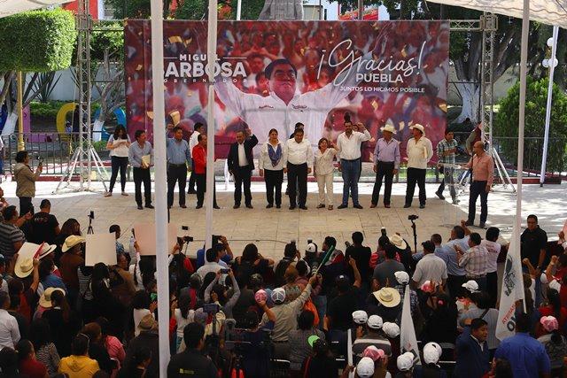 GARANTIZA EL GOBERNADOR ELECTO MIGUEL BARBOSA UNA ADMINISTRACIÓN CON VISIÓN DE INCLUSIÓN TOTAL