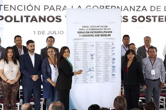 MUNICIPIOS DE LA ZONA CONURBADA PUEBLA-TLAXCALA, FORTALECEN ESTRATEGIAS PARA LA PRESERVACIÓN DEL RÍO AYOTAC