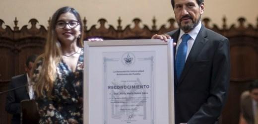EGRESADA BUAP, PREMIO VON BEHRING-RÖNTGEN YOUNG TALENT AWARD 2019