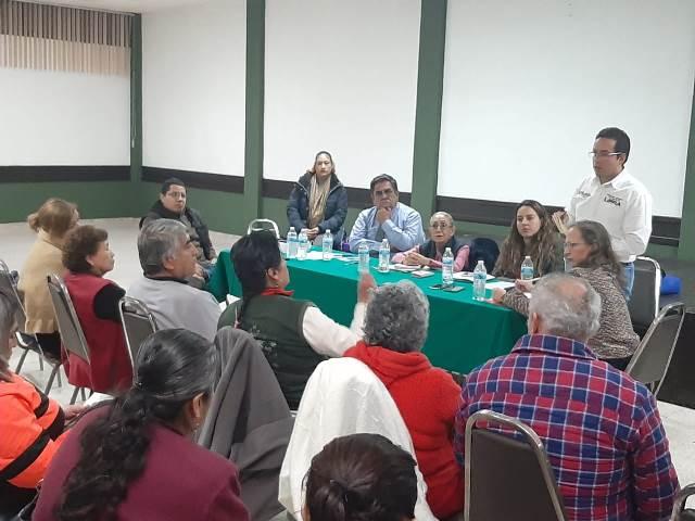 REALIZA OOSL REUNIÓN CON CONSEJO DE COLONOS DE PUEBLA