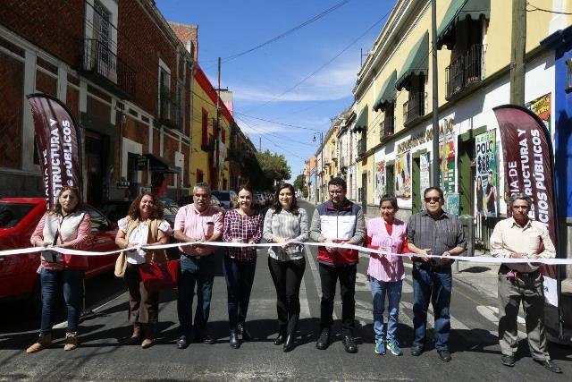 ENTREGAN REHABILITACIÓN DE TRES AVENIDAS PRINCIPALES EN LA CAPITAL POBLANA