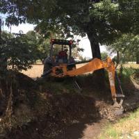 INICIA GOBIERNO DE SAN ANDRÉS CHOLULA DESAZOLVE DE CANALES PLUVIALES PARA EVITAR INUNDACIONES: ROBERTO MAXIL