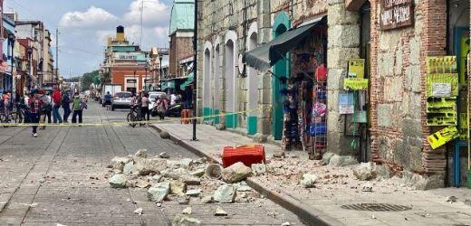 PROTECCIÓN CIVIL DE OAXACA INFORMÓ QUE EL SISMO REGISTRADO ESTA MAÑANA CAUSÓ LA MUERTE DE SEIS PERSONAS, CUATRO HERIDOS Y DAÑOS MENORES