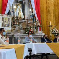 ANUNCIAN ACUERDOS RESPECTO A LAS FESTIVIDADES DE LA VIRGEN DEL CARMEN EN HUEJOTZINGO
