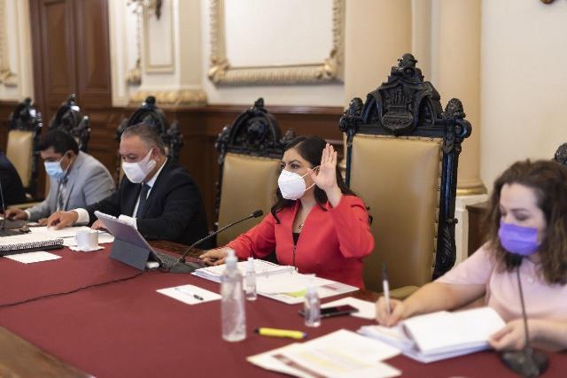 APRUEBAN SITUACIÓN FINANCIERA DEL AYUNTAMIENTO DE PUEBLA DURANTE SESIÓN DE CABILDO