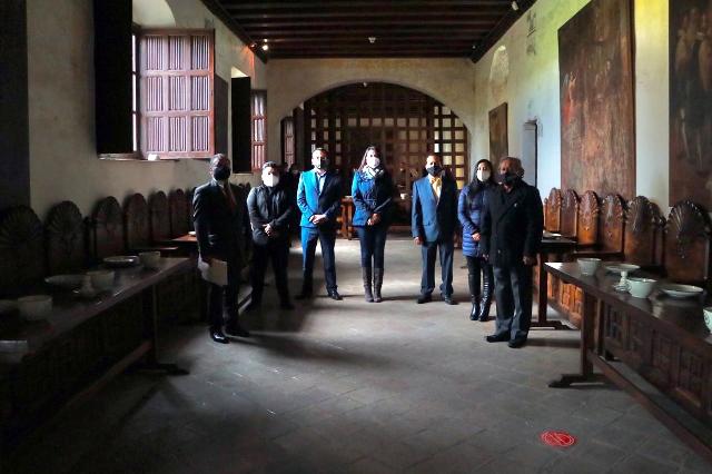 ENCABEZA ANGÉLICA ALVARADO LA REAPERTURA DEL MUSEO DE LA EVANGELIZACIÓN EN EL EX CONVENTO DE SAN MIGUEL ARCÁNGEL