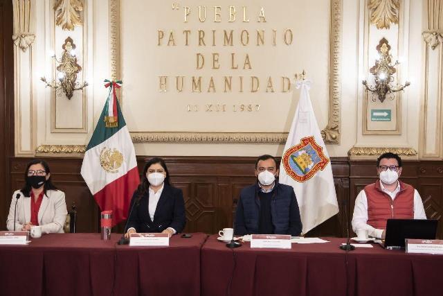 PRESENTA GOBIERNO DE LA CIUDAD DE PUEBLA PLAN DE EJECUCIÓN PARA INTERVENIR EL CORREDOR 5 DE MAYO