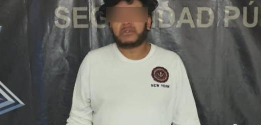 """CAPTURAN POLICÍA ESTATAL Y DE TEXMELUCAN A CUÑADO DE """"EL LOCO"""" TÉLLEZ"""
