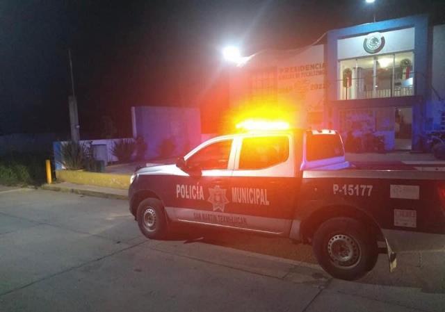 ESTADO Y MUNICIPIO TRABAJAN DE LA MANO PARA FORTALECER LA SEGURIDAD EN SAN MARTÍN TEXMELUCAN