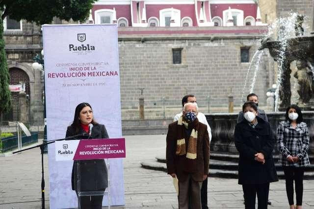 """SIGAMOS HACIENDO DE PUEBLA UNA CIUDAD REVOLUCIONARIA"""": CLAUDIA RIVERA VIVANCO"""