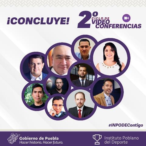 CONCLUYE INPODE SEGUNDO CICLO DE VIDEOCONFERENCIAS