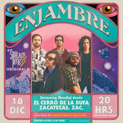 ENJAMBRE STREAMING MUNDIAL DESDE EL CERRO DE LA BUFA, ZACATECAS, DICIEMBRE 18