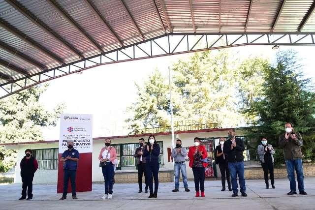 ENTREGA GOBIERNO DE LA CIUDAD DE PUEBLA MÁS INFRAESTRUCTURA EDUCATIVA A 600 NIÑAS Y NIÑOS