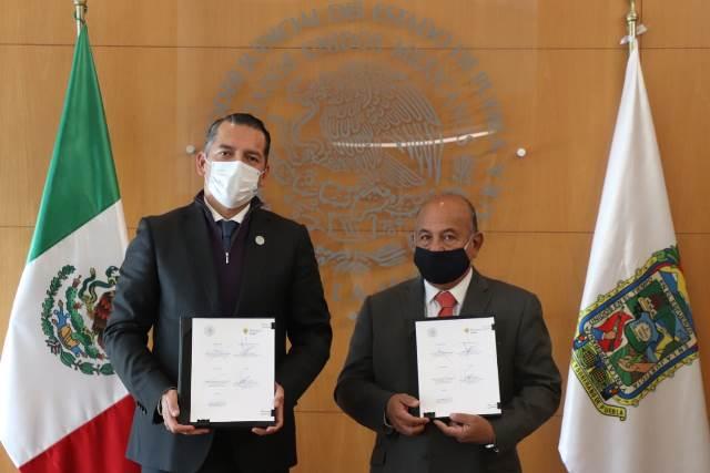 PODER JUDICIAL Y GOBIERNO DEL ESTADO FIRMAN CONVENIO DE DIFUSION CULTURAL