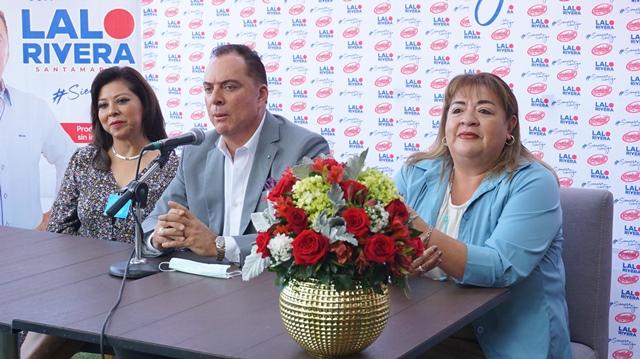 ANUNCIA LALO RIVERA SANTAMARÍA PROYECTOS PARA LA REACTIVACIÓN ECONÓMICA DE PUEBLA