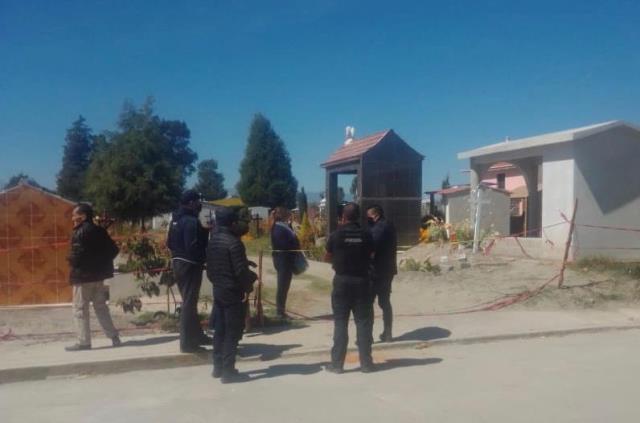 OPERATIVO EN PANTEONES CON SALDO BLANCO: GOBIERNO DE TEXMELUCAN