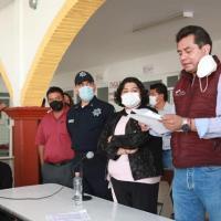 AYUNTAMIENTO DE SAN ANDRÉS SOSTIENE MESA DE DIÁLOGO Y LIBERA CIRCULACIÓN EN VÍA ATLIXCÁYOTL