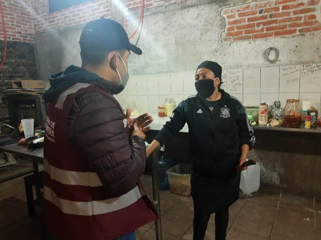 GOBIERNO DE TEXMELUCAN VERIFICA QUE NEGOCIOS CUMPLAN CON LAS MEDIDAS DE HIGIENE Y PREVENTIVAS DURANTE EL BUEN FIN