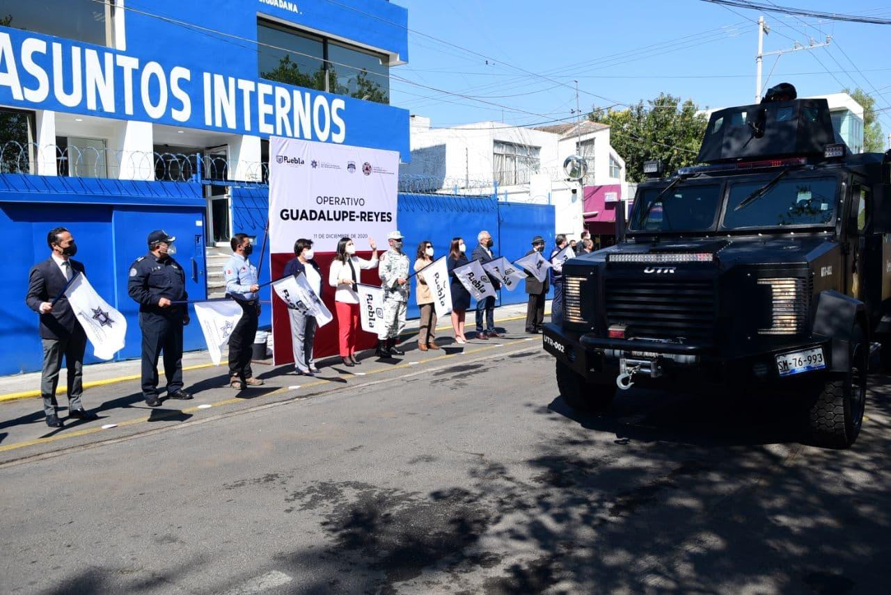 INICIA GOBIERNO DE LA CIUDAD DE PUEBLA EL OPERATIVO GUADALUPE- REYES