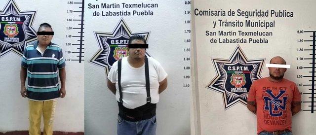 POLICÍA DE TEXMELUCAN REALIZA DETENCIONES PARA SEGURIDAD DEL MUNICIPIO
