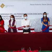 """INAUGURA SEDIF """"SEMANA DE PERSONAS CON DISCAPACIDAD: PONTE MIS ZAPATOS"""""""