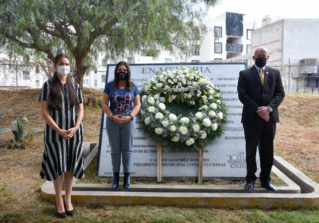 CON EMOTIVA CEREMONIA GOBIERNO DE TEXMELUCAN RECUERDA LOS ACONTECIMIENTOS DEL 19 DE DICIEMBRE DEL 2010
