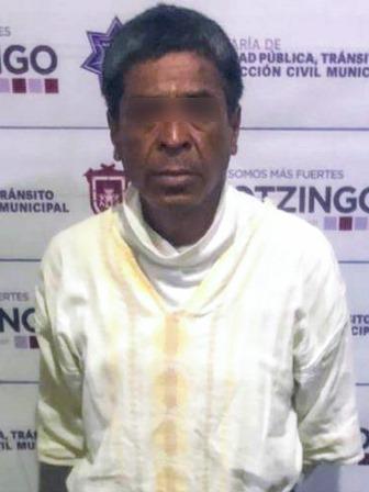 DETIENE POLICÍA MUNICIPAL DE HUEJOTZINGO A PROBABLE RESPONSABLE POR DELITOS CONTRA LA SALUD