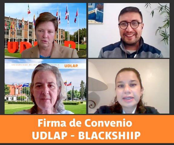 UDLAP Y BLACK SHIIP FIRMAN CONVENIO EN MATERIA DE PRÁCTICAS EN LA PROFESIÓN