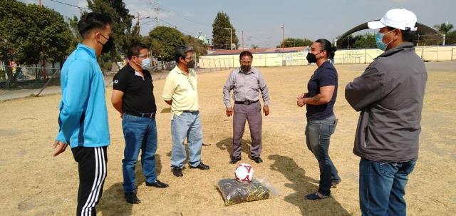 FORTALECE GOBIERNO DE TEXMELUCAN EL DEPORTE CON APOYOS Y NUEVOS ESPACIOS DEPORTIVOS EN JUNTAS AUXILIARES