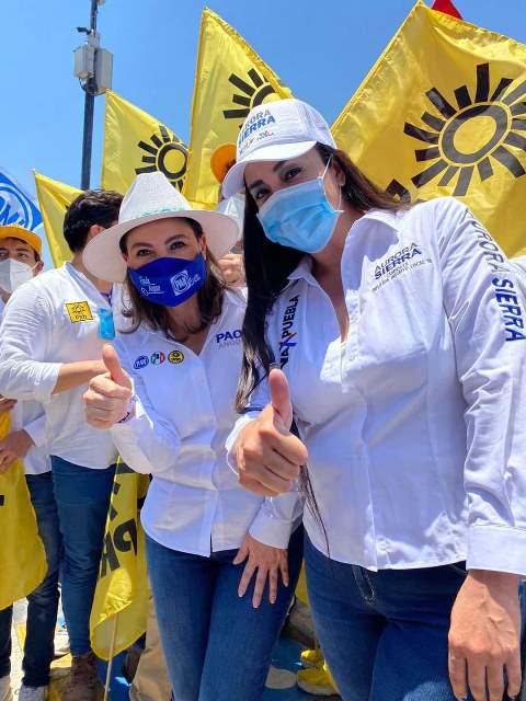INICIA CAMPAÑA EN LAS CHOLULAS AURORA SIERRA