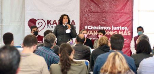 SUMA VOLUNTADES PROYECTO DE CONTINUIDAD DE KARINA PÉREZ POPOCA EN SAN ANDRÉS CHOLULA