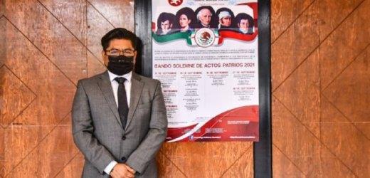 REALIZARAN AUTORIDADES DE CORONANGO COLOCACIÓN DEL BANDO SOLEMNE DE FIESTAS PATRIAS