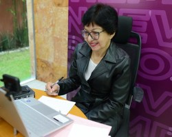 ESTOY AGRADECIDA CON LA COMUNIDAD UNIVERSITARIA: LILIA CEDILLO