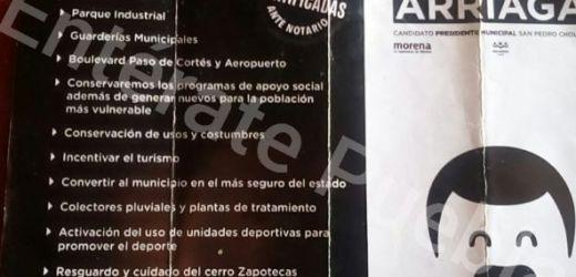 EN TRES AÑOS DE MANDATO, LUIS ALBERTO ARRIAGA CUMPLIÓ SÓLO DOS DE 13 PROMESAS DE CAMPAÑA