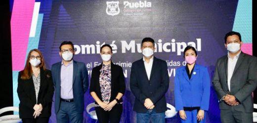 INSTALA AYUNTAMIENTO DE PUEBLA EL COMITÉ MUNICIPAL PARA EL FORTALECIMIENTO DE MEDIDAS DE PREVENCIÓN DEL COVID-19