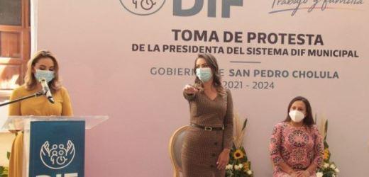 SOMOS UN GOBIERNO SENSIBLE, AFIRMA PAOLA ANGON AL TOMAR PROTESTA AL PATRONATO DEL DIF MUNICIPAL