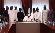 Buhari Budget Signing