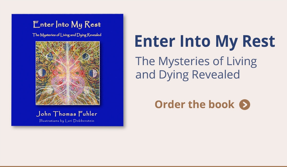 Order your copy of Enter Into My Rest, by John Thomas Fuhler