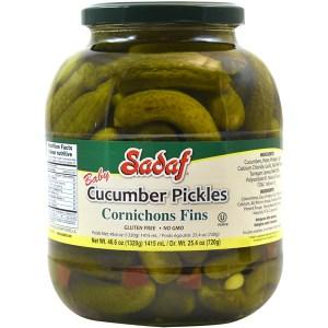 Cucumber Pickles Cornichons Fins 46.60 oz.