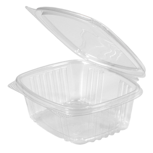 Clear Hinged Take-Out Container, AD12 – 50/CASE