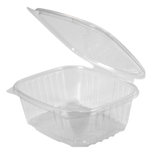 Clear Hinged Take-Out Container, AD32 – 50/CASE