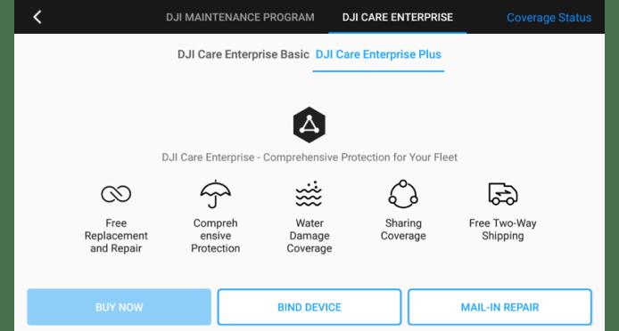 7. UAV Health Management - DJI Care Enterprise