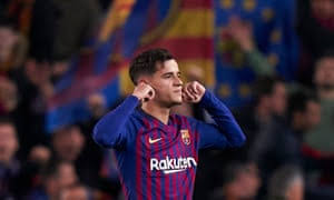 I KNOW I HAVE UNDERPERFORMED AT BARCELONA- PHILIPPE COUTINHO