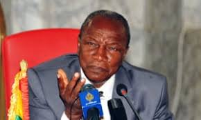 PRESIDENT CONDE OF GUINEA PAYS VISIT TO PRESIDENT BUHARI IN DAURA TO CELEBRATE EID IL KABIR