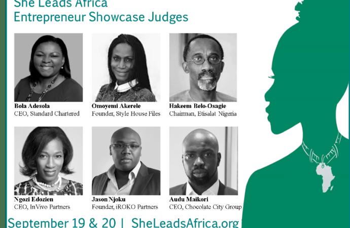 Jason Njoku, Omoyemi Akerele and Audu Maikori Join Judging Panel for She Leads Africa Entrepreneur Showcase